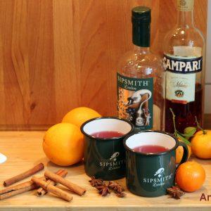 Hot Negroni - Sipsmith Gin